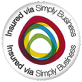 Insured via Simply Business